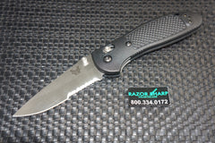 Benchmade 551S Griptilian AXIS Lock Knife Serrated Satin Edge