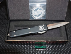 Microtech Blade Show 2019 Ultratech Bayonet Blade OTF Automatic Knife with Coin