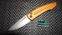 Kershaw 7200EBSW Launch 2 Automatic Knife Bronze Aluminum Stonewash