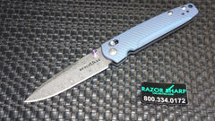 Benchmade 485-171 Valet Gold Class AXIS Lock Knife Blue-Violet Ti Damascus