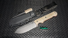 White River FC4 Firecraft Fixed Blade Knife OD Green w/ Kydex Sheath