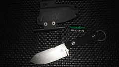 White River Knives Firecraft 3.5 Pro Fixed Blade Knife Black G-10  Stonewash Plain
