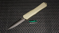 Heretic H032-6C-GR Manticore-X Green Blade Show D/E Full Serrated OTF Automatic Knife