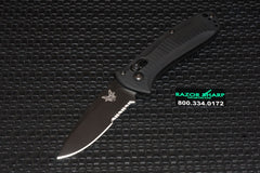 Benchmade 525SBK Mini Presidio AXIS Lock Knife Black Serrated Edge