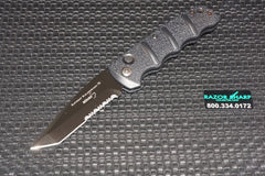 Boker  KALS74BTS Kalashnikov Automatic Knife Black Tanto Serrated
