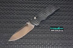 Benchmade 1000001 Volli Knife Axis Spring Assisted Satin Plain Edge