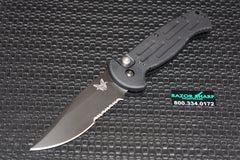 Benchmade 9051SBK AFO II Automatic Opening Knife Black Serrated