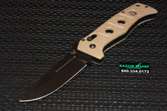 Benchmade 275BKSN Adamas Axis Lock Manual Knife w/ Tan Handle 275