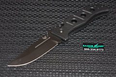 Benchmade 275BK Adamas Axis Lock Manual Knife w/ Black Handle 275