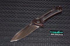 Zt Zero Tolerance 0801CF Copperhead Knife Carbon Fiber Bronze