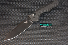 Benchmade 810BK Contego AXIS Lock Knife Black Plain Edge