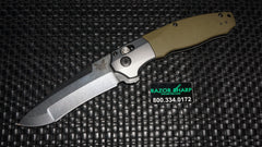 Benchmade 496 Vector AXIS-Assist Opening Knife O.D. G-10 Satin Plain