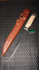 "White River Knives Fillet Knife 8.5"" 440C Blade Micarta/Cork Handle WRF8-CORK"