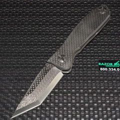 Beretta Avenger II Folding Knife Warren Thomas Carbon Fiber Tanto VG-10