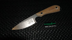 White River Knives Caper Fixed S35VN Blade Natural Micarta Handle Kydex Sheath