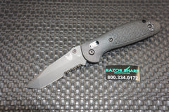 Benchmade 557SBK-S30V Mini Griptilian Tanto AXIS Knife Black Serrated