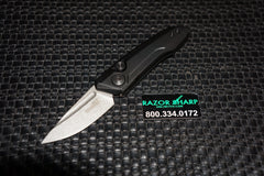 0 Launch 9 Automatic Knife Black Working Finish Blade
