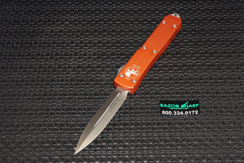 Microtech 122-10OR Ultratech D/E OTF Automatic Knife Orange 122-10OR