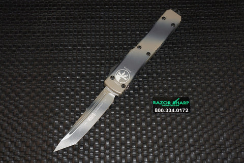 Microtech 123-1TC Tan Camo Ultratech T/E OTF Automatic Knife Plain