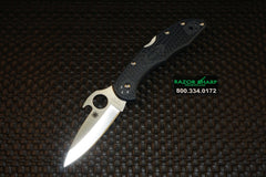 Spyderco C11PGYW Delica 4 Knife Emerson Wave Opener FRN Folder Satin Plain