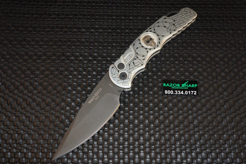 Protech Razor Wire Skull TR-4 Automatic Opening Knife Limited Edition