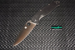 Spyderco C142GP Resilience Knife G-10 Folder Satin Plain