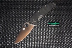 Spyderco C122GP Tenacious Folding Knife G-10 Handle Satin Plain