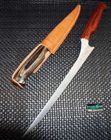 "White River Knives Step Up Fillet Knife 11"" 440C Blade Dymondwood Handle WRFI11-CRKDW"