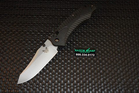 Benchmade 9555S Rift Automatic Axis Lock Knife Serrated