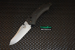 Benchmade 9555 Rift Automatic Opening Axis Lock Knife Satin Plain Edge