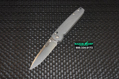 Benchmade 485 Valet AXIS Lock Gentleman's Folding Knife Gray G-10 Plain Satin
