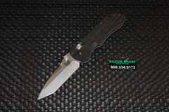 Benchmade 904 Mini-AXIS Stryker Tanto Point Knife Stonewash Plain