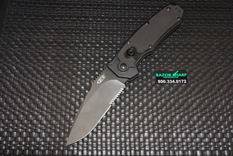 Zero Tolerance 0650ST Automatic Knife Black Serrated Folder Knife Auto