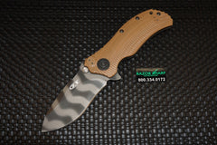 Zt Zero Tolerance 0302 Desert Tan Tiger Stripe Assisted Opening Knife