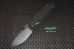 DPx HEST/F 2.0 Triple Black Special Edition T3 Knife G10/Ti Black