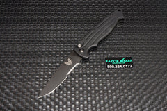 Benchmade 2550SBK Mini-Reflex Automatic Knife Black Serrated Edge