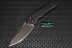 Kershaw 7100BW Launch 1 Automatic Knife Black Aluminum BlackWash