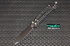 Benchmade 32BK Balisong Butterfly Knife Mini- Morpho Black Plain