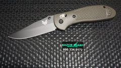 Benchmade 551BKOD Griptilian AXIS Lock Knife OD Green S30V Black Plain