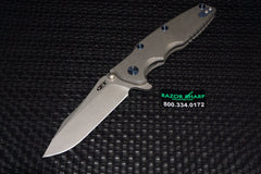 ZT Zero Tolerance 0392 Rick Hinderer 0392 Factory Custom Knife
