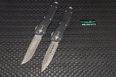 Microtech Custom Marfione Troodon OTF Automatic Knives Damascus Set of 2