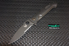 Benchmade 740SBK Bob Lum DeJavoo Knife Serrated Black 740SBK