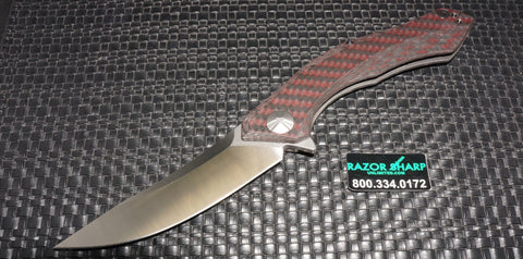 Zt Zero Tolerance 0462 by Dmitry Sinkevich Titanium Framelock Satin Plain