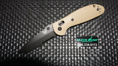 Benchmade 557SBKSN Sand Mini Griptilian Tanto AXIS Knife CPM-S30V Black Serrated