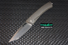 DPx Gear Aculus 3D Limited Edition Titanium Knife Stonewash Plain Edge