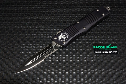 Microtech 138-2 Troodon OTF D/E Tactical Automatic Knife Black Serrated