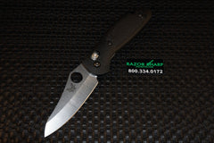 Benchmade 555HG Mini Griptilian AXIS Lock Knife Satin Plain Edge