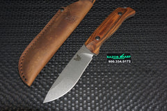 Benchmade 15001-2 Saddle Mountain Skinner Knife Wood Hunting Fixed Blade
