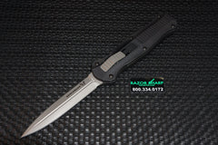 Benchmade 3300 Infidel Knife OTF Double Action Automatic Satin Plain