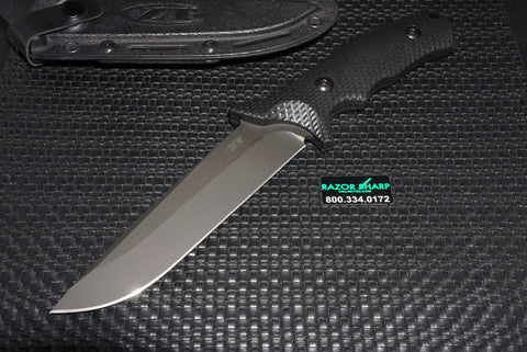 Zt Zero Tolerance 0170 Military Tactical Combat Fixed Blade Knife DLC Black